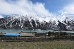 Bancos de Ranwuhu dos povos tibetanos Imagens de Stock