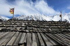 Bancos de Ranwuhu dos povos tibetanos Imagem de Stock