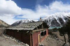Bancos de Ranwuhu dos povos tibetanos Fotos de Stock Royalty Free