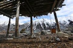 Bancos de Ranwuhu dos povos tibetanos Fotografia de Stock Royalty Free