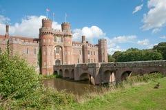 Bancos del castillo Imágenes de archivo libres de regalías