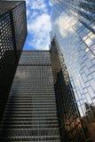 Bancos em Toronto da baixa, Canadá fotos de stock royalty free