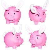 Bancos Piggy. Fotografia de Stock