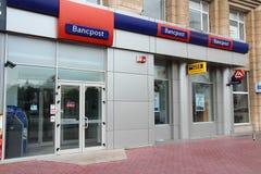 Bancpost银行在罗马尼亚 免版税库存图片