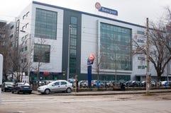 Bancpost bank building Stock Image