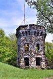 Bancroft城堡, Groton,密德萨克斯郡,马萨诸塞,美国镇  免版税图库摄影