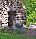 Bancroft城堡, Groton,密德萨克斯郡,马萨诸塞,美国镇  免版税库存图片