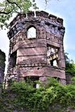 Bancroft Castle, πόλη Groton, κομητεία του Middlesex, Μασαχουσέτη, Ηνωμένες Πολιτείες στοκ εικόνα με δικαίωμα ελεύθερης χρήσης