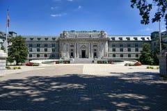 Bancroft Hall på den sjö- akademin för Förenta staterna royaltyfria foton