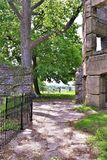 Bancroft slott, stad av Groton, Middlesex County, Massachusetts, Förenta staterna Royaltyfri Foto