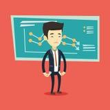 Bancrupt business man vector illustration. Stock Images