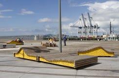 Bancs d'Auckland Nouvelle Zélande Photographie stock