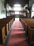 Bancs d'église Photos stock