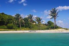 Bancs de sable du Tobago Images libres de droits