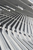 Bancs de stade de football Photo stock