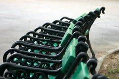 Bancs de stationnement Photo libre de droits