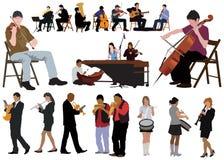 Band stock illustration