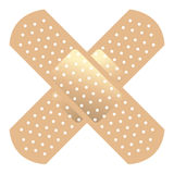 Band Aid. Simple Illustrated version of a band aid vector illustration