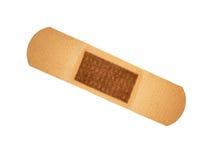 Band aid. On white background Royalty Free Stock Image