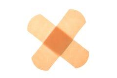Band-aid attraversato. Immagini Stock