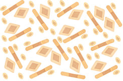 Band Aid Background Stock Images