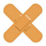 Band-aid Bandage Cross Stock Photography