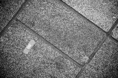 Band-Aid on Pavement Royalty Free Stock Photography