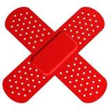 Band-Aid transversal ilustração royalty free