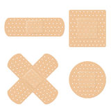 Band Aid Vector Set Royalty Free Stock Photos
