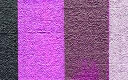 Band av olika färger Arkivfoto