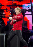 Band Bon Jovi performs a concert royalty free stock image