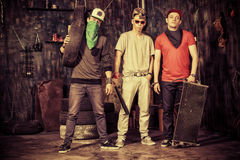 Band boys Royalty Free Stock Images