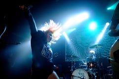 Band Cansei de Ser Sexy führt am Auditorium durch Stockfotos