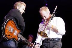 band chicago Royaltyfri Fotografi