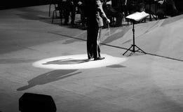 The band command shadow. The evening of November 8, 2014, known by Karim, Dong Wenhua, Cheng Zhi, Yan Weiwen, Cai Guoqing, snow white, Wang Hongwei and Lei Jia Stock Images