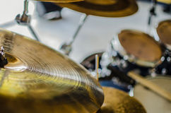 Band drums real concert Stock Photography