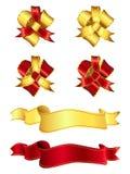 band för 1 bows Arkivbilder