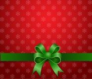 Band för julbakgrundsgreen Arkivfoto