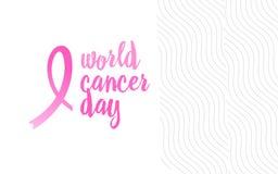 Band för vektor för bröstcancermedvetenhetmånad på vattenfärgbakgrund Royaltyfria Foton