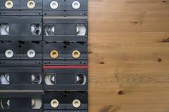 Band för VHS videokassett Arkivbilder