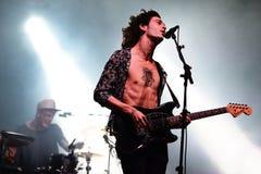 1975 (Band) führt an FLUNKEREI Festival durch Lizenzfreie Stockfotos