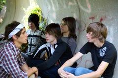 Band-Gehilfen Lizenzfreie Stockfotos