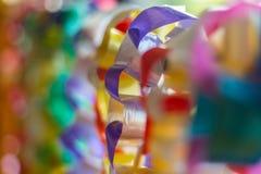 Band-Girlande für Verkauf in der Schule Lizenzfreie Stockfotos