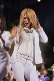 Band Hye Yeon SNSD am Festival menschliche Kultur EquilibriumConcert Korea in Vietnam lizenzfreie stockbilder