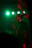 Band im Konzert Lizenzfreie Stockfotos