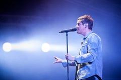 Band Keane Spiele am Festival stockfotografie