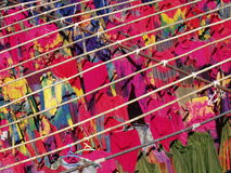 Band-kleurstof fabriek royalty-vrije stock afbeeldingen