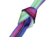 Band knot for climbing Stock Photos