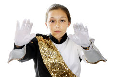 Band leader Royalty Free Stock Photo
