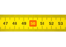 Band-Maß 50 Stockfotografie